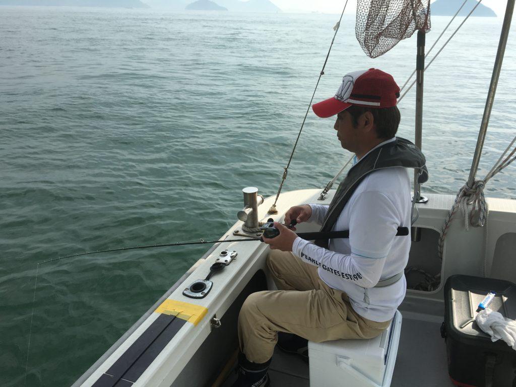 鯛ラバ挑戦