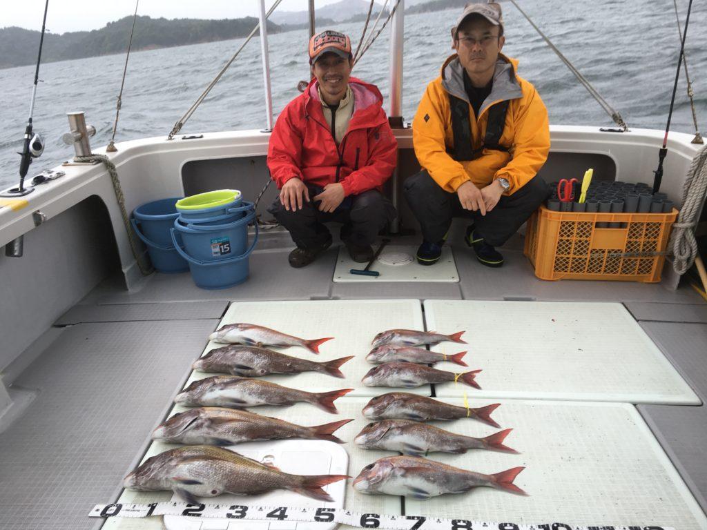 鯛釣り60オーバー