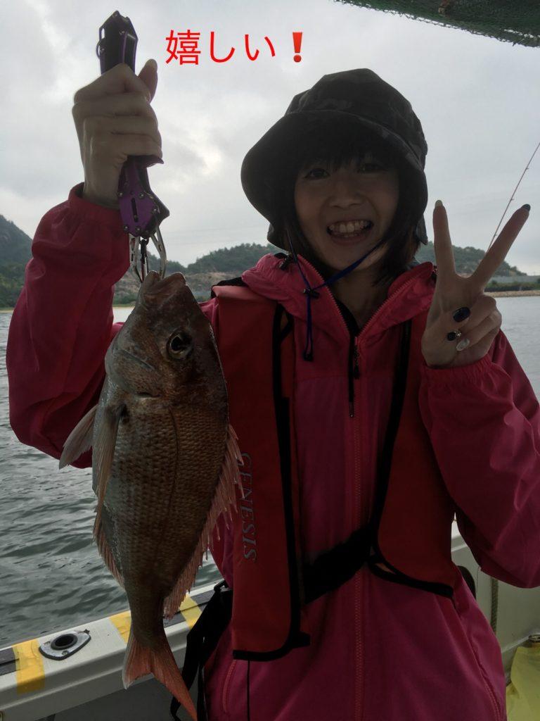 嬉し鯛釣り