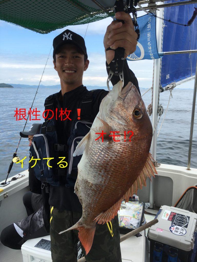 2016年7月9日鯛ラバ/釣果